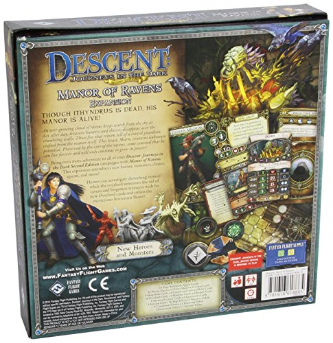 Descent: Journeys in the Dark 2nd Edition - Manor of Rave...
