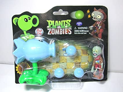 PLANTS vs. ZOMBIES - SNOW PEA & ZOMBIE / HIELAGUISANTES ...