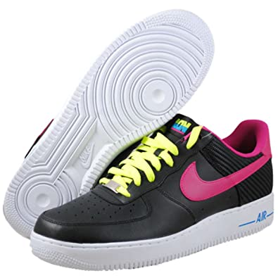 Nike Air Force 1 One Low schwarz lila wei? (488298 015
