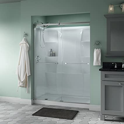 Delta Shower Doors Sd3172690 Linden 60 X 71 Semi Frameless