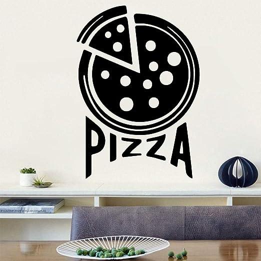 wukongsun Etiqueta de la Pared de Pizza Caliente Etiqueta de la ...