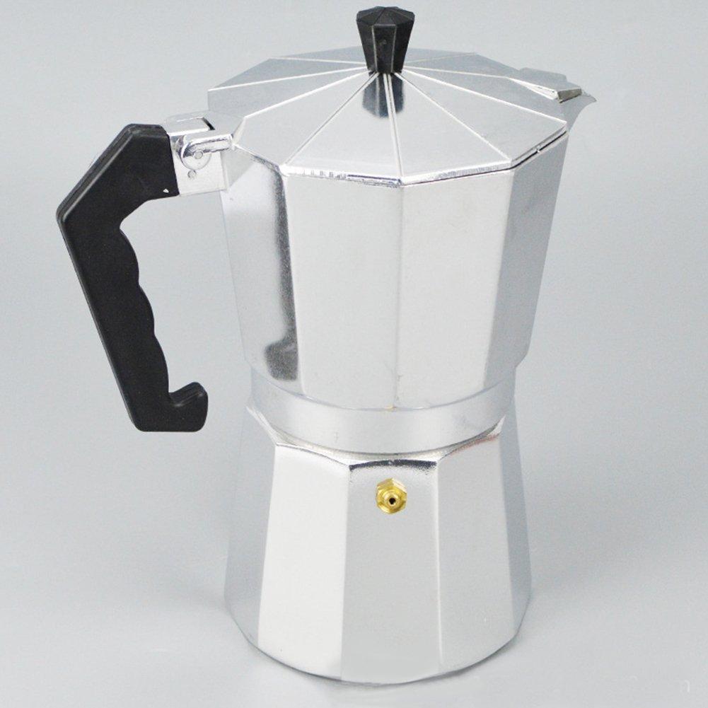 Olla de café de aluminio con junta de repuesto y filtro para la ...