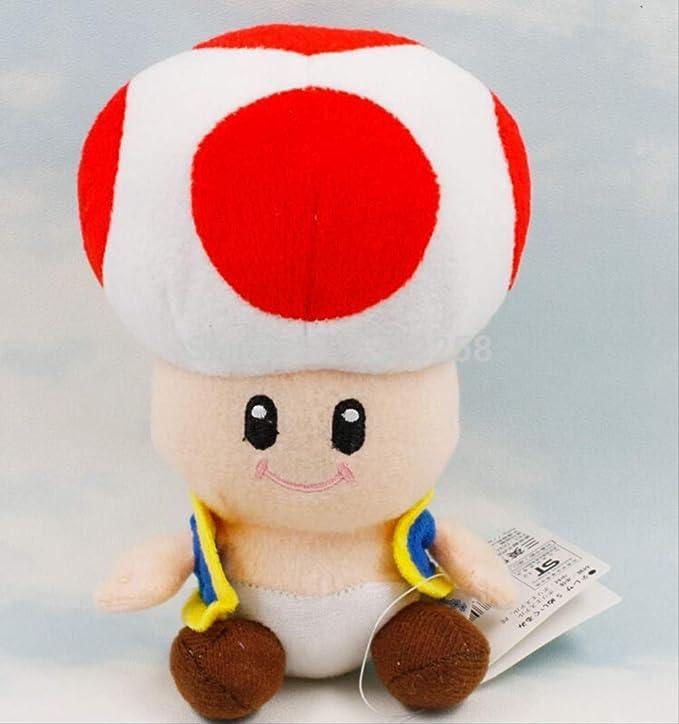 amazon super mario mushroom plush