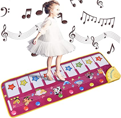 Kids Toys Touch Play Baby Soft Mat animals voices and Music Musical Carpet Kids