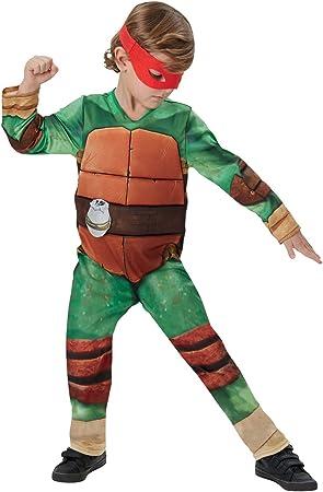 Rubies - Disfraz Tortugas Ninja para niños de 7 - 9 años, talla L ...