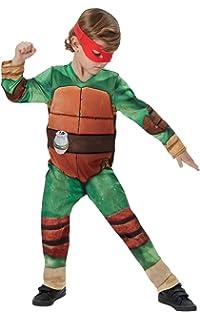 Disfraz de Tortuga Ninja en caja para niño, infantil 8-10 ...