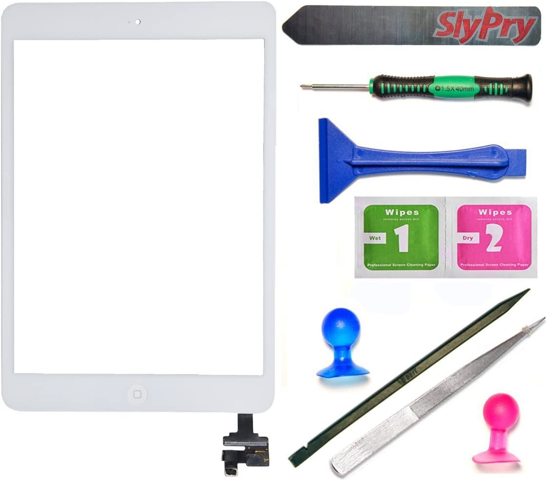 Home Button for Apple iPad Air 2 White with Tool Kit