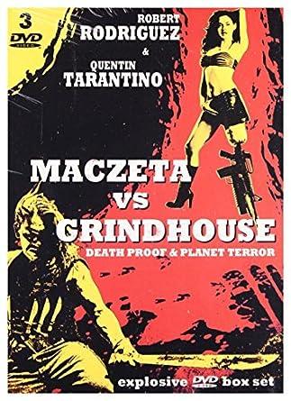 Exploitation: Maczeta / Grindhouse: Death Proof / Grindhouse 2: Planet Terror 3DVD English audio by Robert Rodriguez: Amazon.es: Cine y Series TV