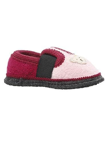 40e578fca80439 Steiff Kinderschuhe - Hausschuhe Kinder Mädchen pink rosa Bobby ...