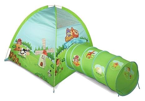 Bambini adventure tenda del gioco e tunnel fattoria design by