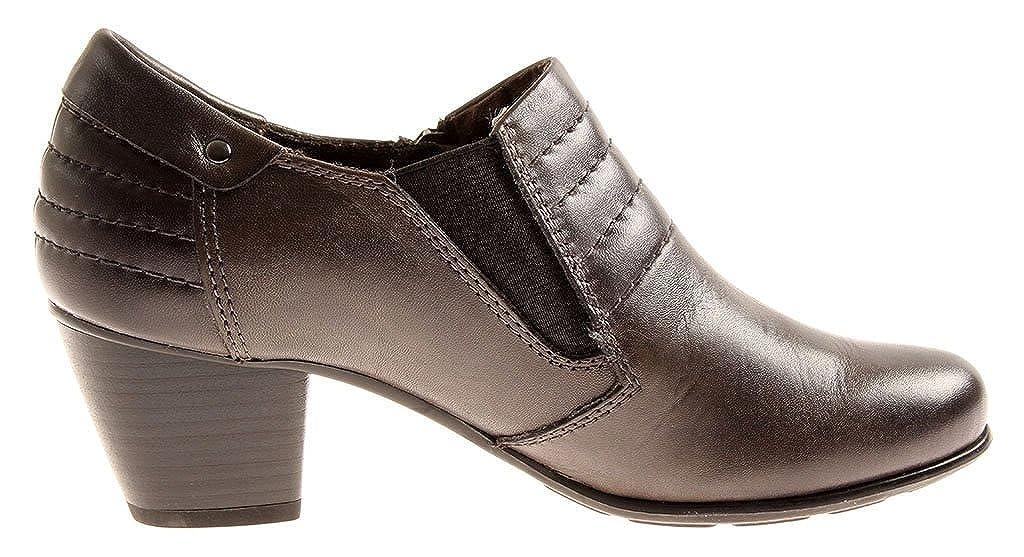 Jana Hochfrontpumps Lederschuhe 8-24441 8-24441 Lederschuhe Leder Schuhe Damen Business H Graphit d5f92f