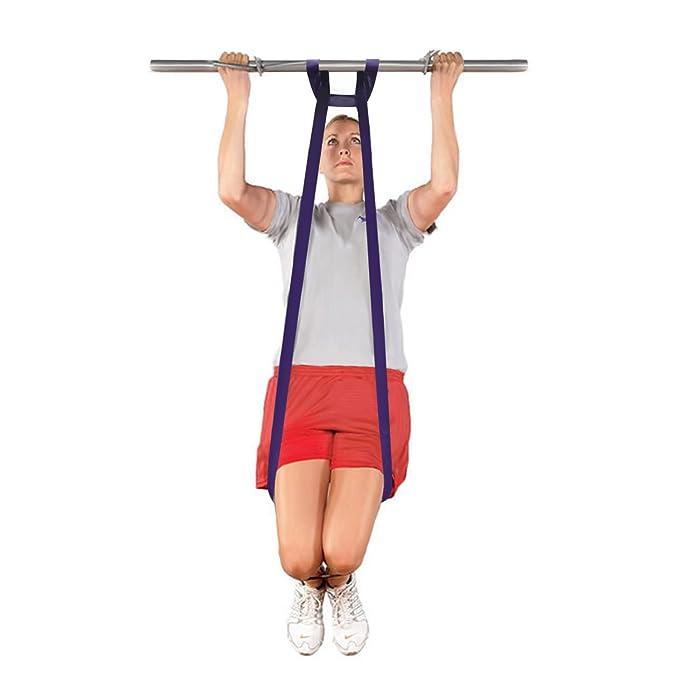 intey Tire hacia arriba ayuda banda bandas de resistencia para cuerpo Squat estiramiento bandas de ejercicio conjunto de 4: Amazon.es: Deportes y aire libre