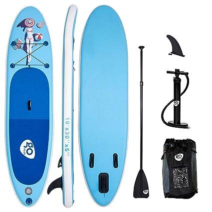 Tabla de Paddle Surf Hinchable Paquete de Sup 305X76X15CM ...