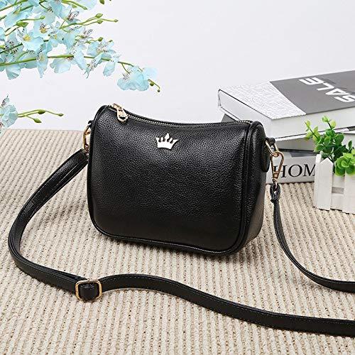 718d9d59f748 Amazon.com: Brand Shoulder Bag Crown Leather Women's Bags Designer  Messenger Crossbody Half Moon Handbags: Kitchen & Dining