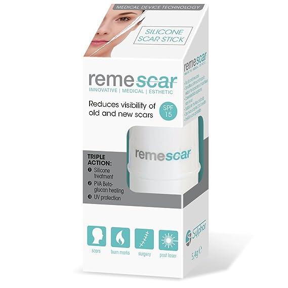 Amazon.com: Remescar Tratamiento de cicatriz de silicona ...