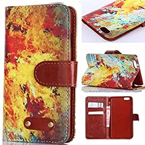 Case for iPhone 4,Ezydigital Carryberry Cute Flip Wallet Leather Case Cover for Iphone 4s 4 4th