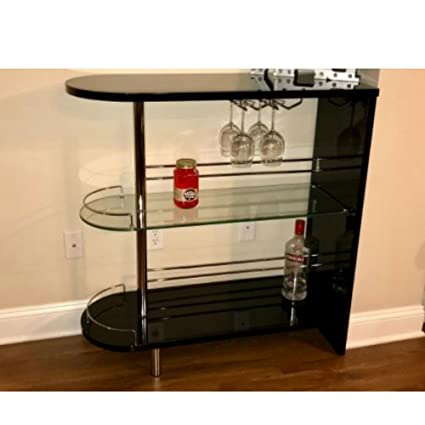 Amazon Com Mini Bar Cabinet Corner Cabinet Bar Shelving Shelf For