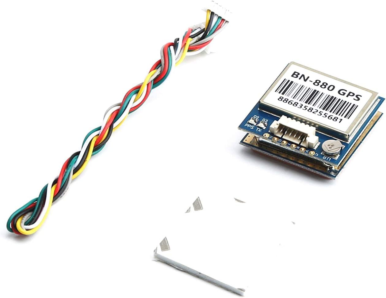 Ballylelly Module de Commande de vol du Module BPS G-880 avec connecteur de c/âble pour Accessoires de Drone de cam/éra multicam/éras