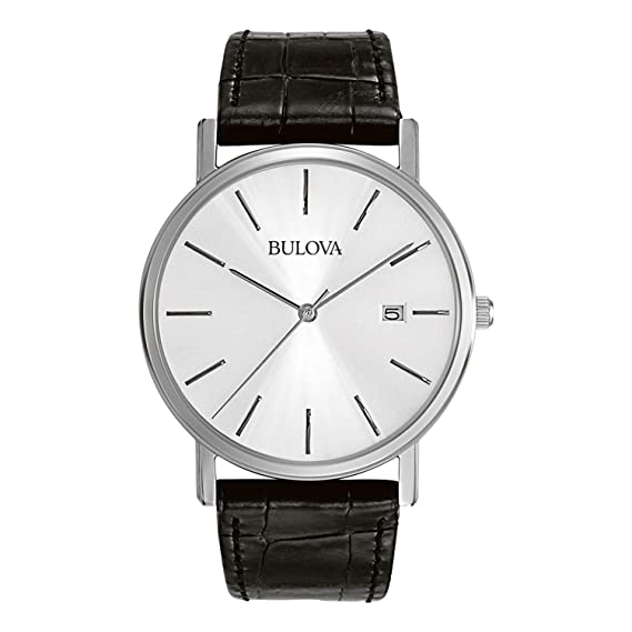 b59737ea3d80 Bulova Reloj analógico para hombre