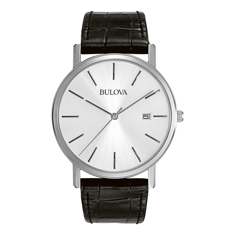 1cdbabf60 Amazon.com: Bulova Men's 96B104 Stainless Steel Dress Watch: Bulova: Watches