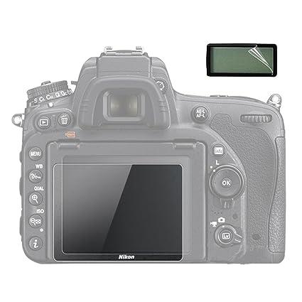 Tempered Glass 9H Screen Protector Nikon Digital D-SLR SLR D7100 D7200