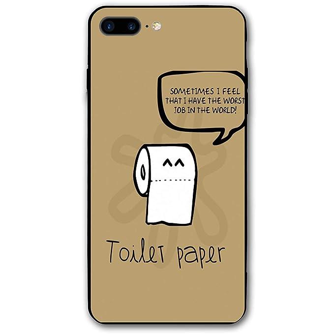 official photos 12ba7 356f7 Amazon.com: Toilet Paper iPhone 7 Plus Case iPhone 8 Plus Case Shock ...