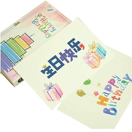 Feliz cumpleaños Postales significativas 30 Paquetes: Amazon ...