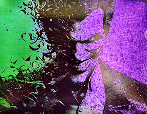 The Joker Batman Arkham Asylum DC Comics Spray Paint Art by Art of Steel