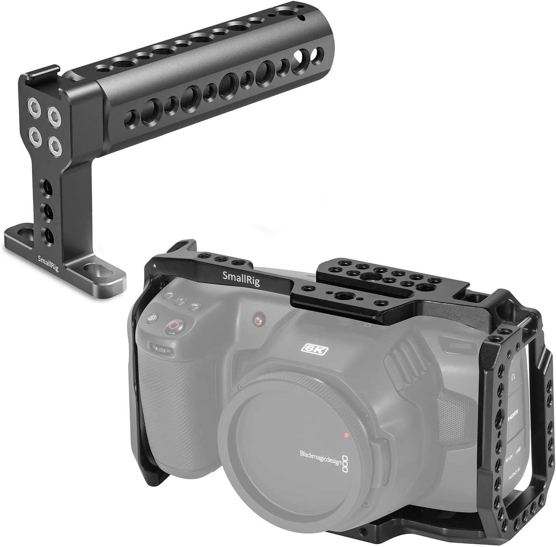 KCVB2747 SMALLRIG Kit Jaula Cage con Top Handle para Blackmagic Design Pocket Cinema Camera 4K y 6K