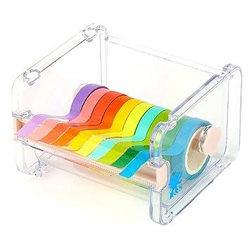 H and S - 10 Washi cintas adhesivas de papel para álbumes de recortes: Amazon.es: Hogar