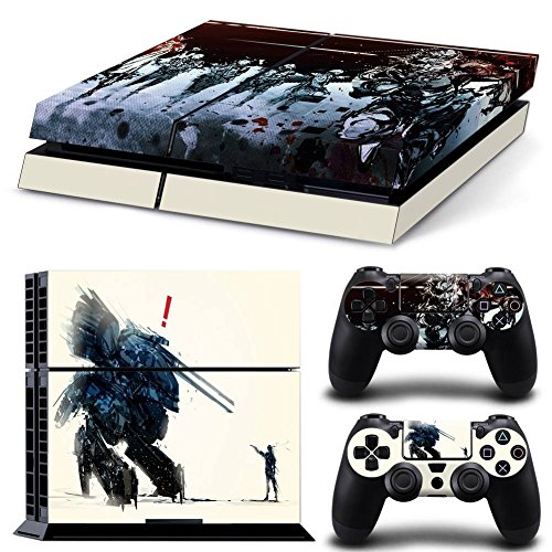 EBTY-Dreams Inc. - Sony Playstation 4 (PS4) - Metal Gear Solid V Venom Snake Video Game Vinyl Skin Sticker Decal Protector