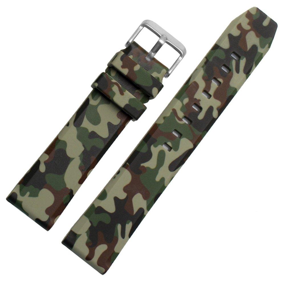 ceston Quick Release silicone gomma orologio nastri 18mm, 20mm, 22mm e selezione di 5colori