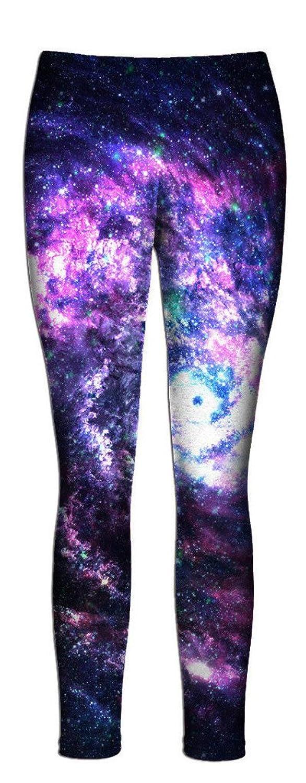 Beloved Worm Hole Leggings - Full Length All Over Print Fashion Leggings