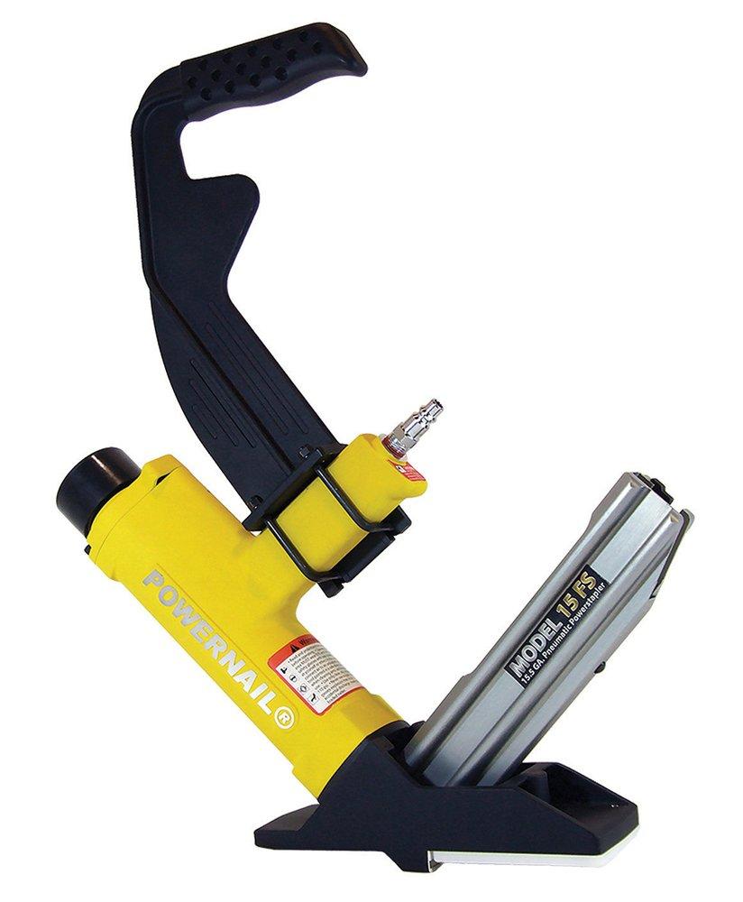 POWERNAIL Model 15FS 15.5-Guage Pneumatic Hardwood Flooring Stapler