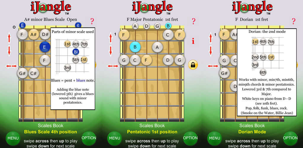iJangle guitarra - escalas - las notas y audio: Amazon.es ...