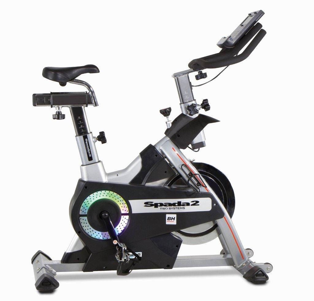BH Fitness i.SPADA 2 H9355I Indoorbike - Indoorcycling - 3-faches Bremssystem - Apple Android kompatibel