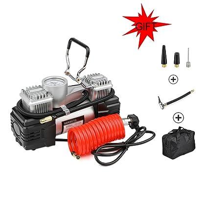 Compresor De Aire, Inflador De Neumáticos, Bomba De Aire De Dos Cilindros Para Trabajos