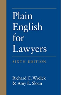 plain english legal writing and research