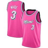 JINHAO Camiseta de Baloncesto para Hombre NBA Miami