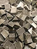 Brown Vibratory Tumbling Media Triangle Aggressive Deburring Rock Polishing 10 LB