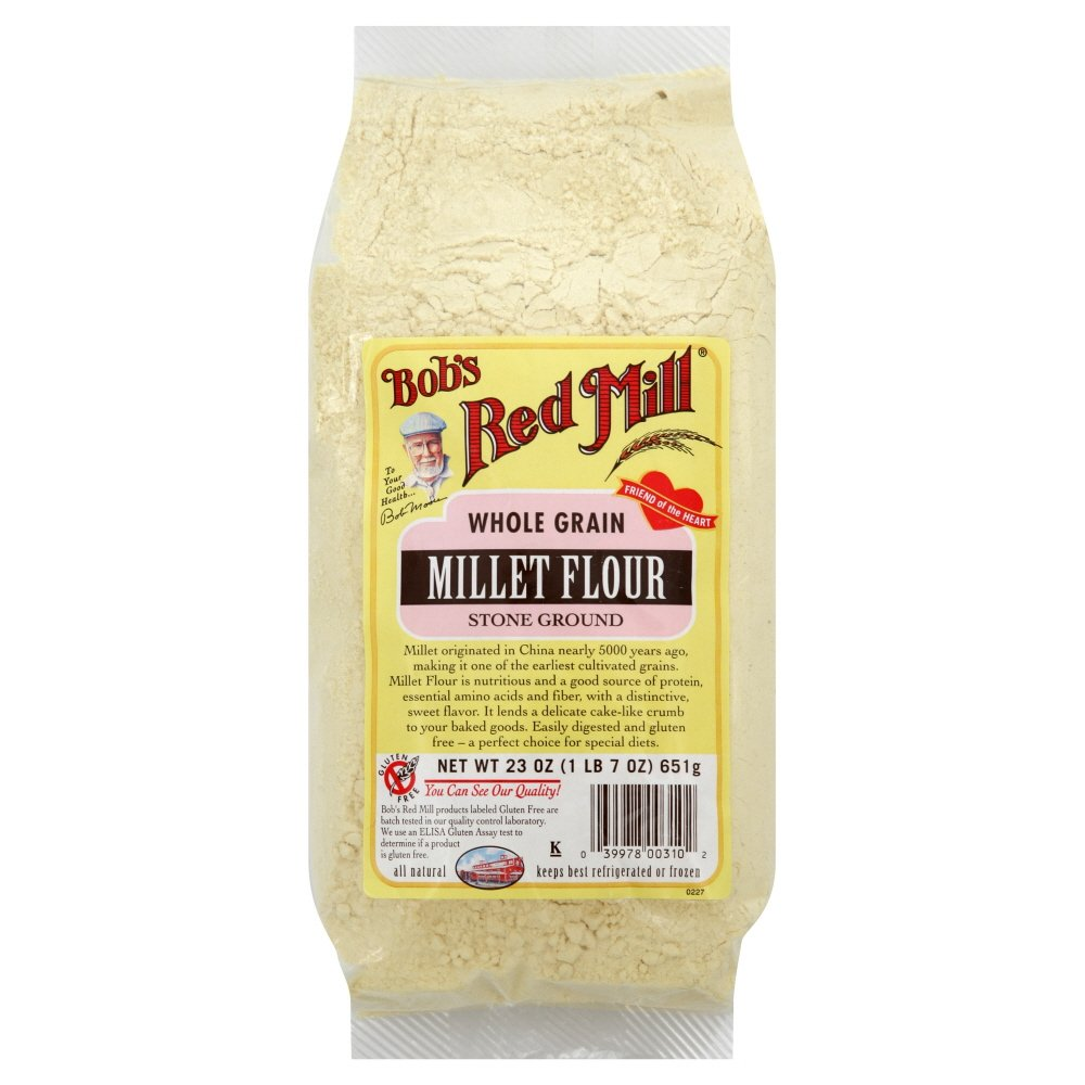 Bob's Red Mill Flour Whole Grain Millet 23.0 OZ (Pack of 3)