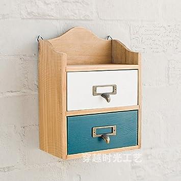 massivholz desktop aufbewahrungsbox holz cosmetics aufbewahrungsbox vier schublade kommode schrank holz jewelry racks bunt