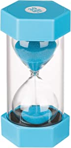 KSMA Hour Glass 30 Minutes Sand Timer,Colorful Hourglass for Kids,Office,Classroom,Kitchen,Games,Toothbrush