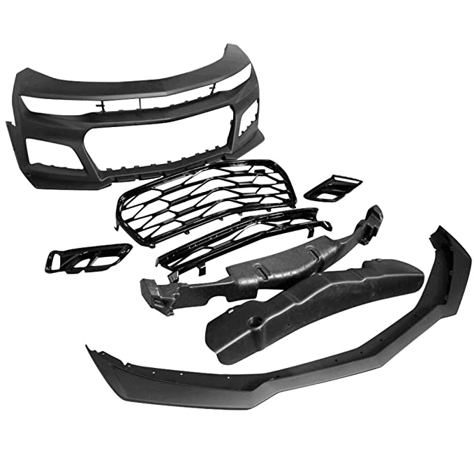 Amazon Com Front Bumper Fits 2016 2018 Chevrolet Camaro