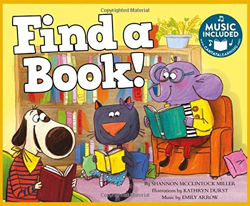 Find a Book! (Library Skills) by Cantata Learning