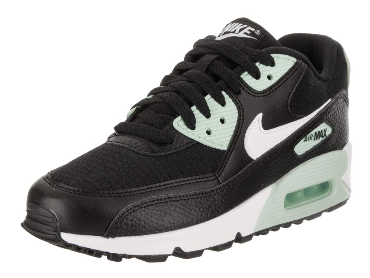 3a0769919e8d6f Galleon - Nike Women s Air Max 90 Black Summit White Igloo-White Running  Shoe 9 Women US