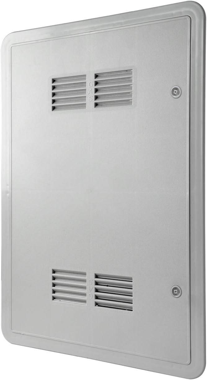 La ventilación sig4060g-y Puerta de inspección Gas de ABS, Gris, 450x 650mm