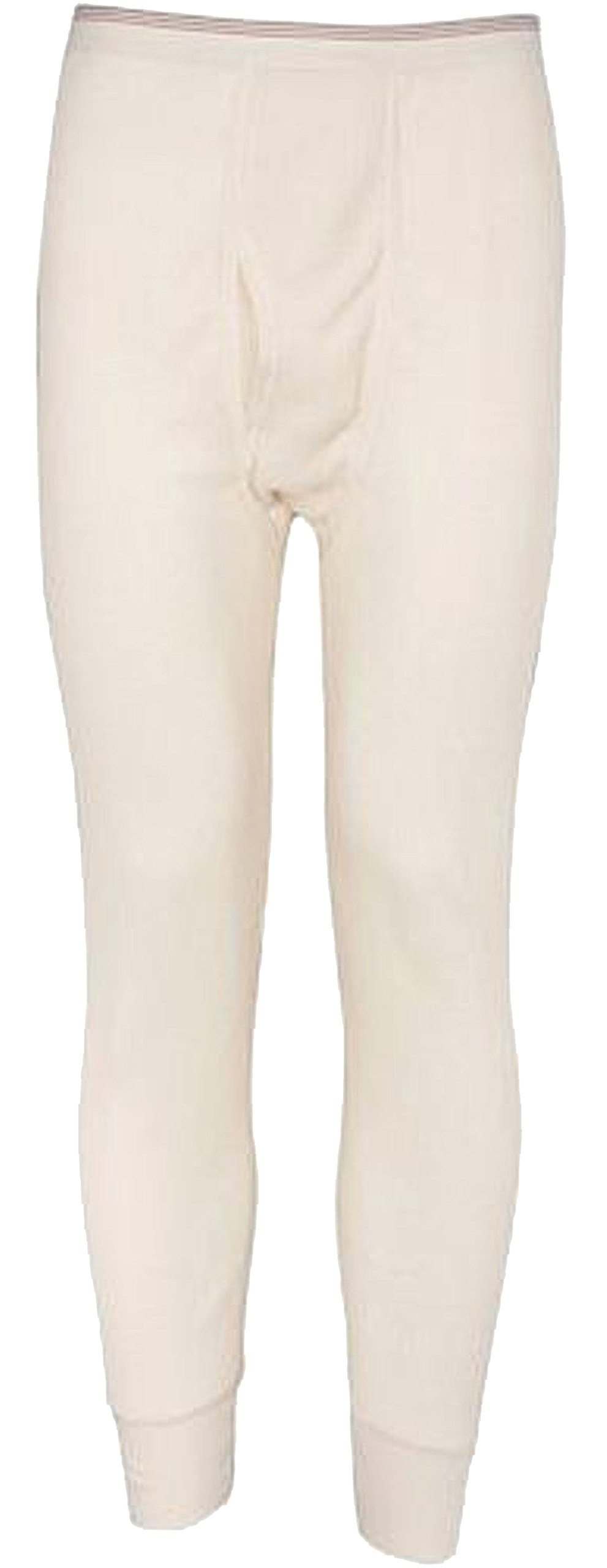 Indera Mills Colored Thermal Long John Bottoms,Medium,Natural