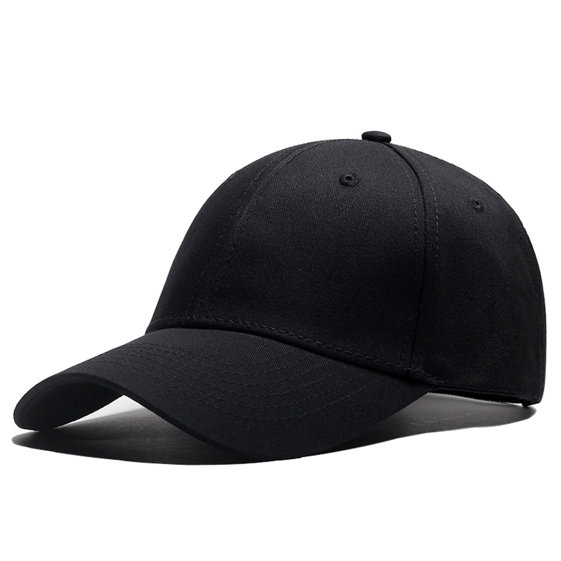 2ecf11eaba7 Amazon.com  LAOWWO Baseball Cap Classic Adjustable Plain Hat Men Women Golf  Cotton Dad Hat  Sports   Outdoors