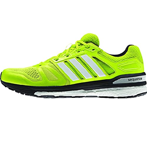 b78c703f1d2a Adidas Men s Supernova Sequence 7 Running Shoe Solar Yellow-White-Black 6.5  D(M) US  Buy Online at Low Prices in India - Amazon.in